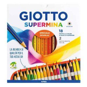Matite SUPERMINA Giotto Fila 18 colori