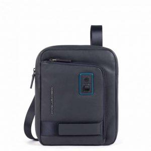 Borsello Piquadro porta iPad Pro in pelle Dionisio blu