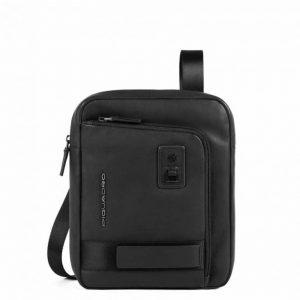 Borsello Piquadro porta iPad Pro in pelle Dionisio nero