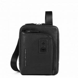 Borsello Piquadro porta iPad mini in pelle Dionisio nero