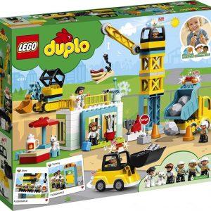 LEGO Duplo Cantiere edile con gru a torre