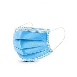 Mascherine Certificata CE DPI a 3 veli azzurro 10 pezzi Bambini