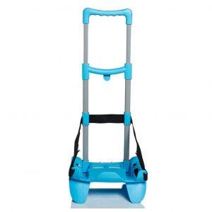 Seven Carrello Trolley per Zaino BE BOX TROLLEY TOP azzurro