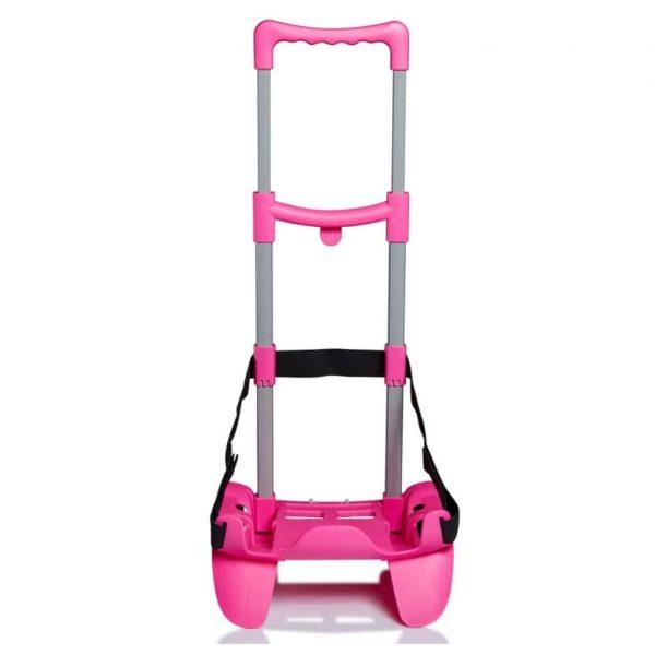 Seven Carrello Trolley per Zaino BE BOX TROLLEY TOP rosa
