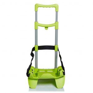 Seven Carrello Trolley per Zaino BE BOX TROLLEY TOP verde