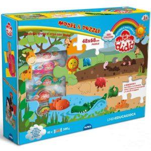 Dido' Model & Puzzle  Pasta da Modellare + Puzzle
