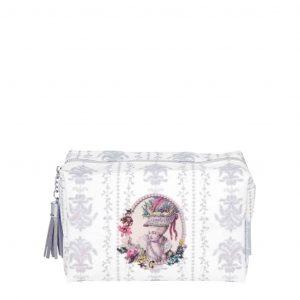 Beauty case da viaggio MATHILDE M Madmoiselle Marquise Bianco