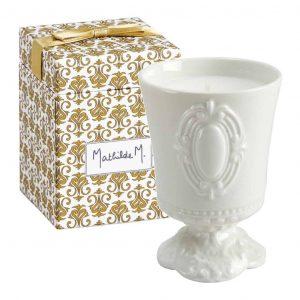 Candela profumata MATHILDE M Cabinet des Merveilles 120g fragranza Antoinette