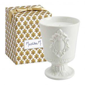 Candela profumata MATHILDE M Cabinet des Merveilles 120g fragranza Marquise