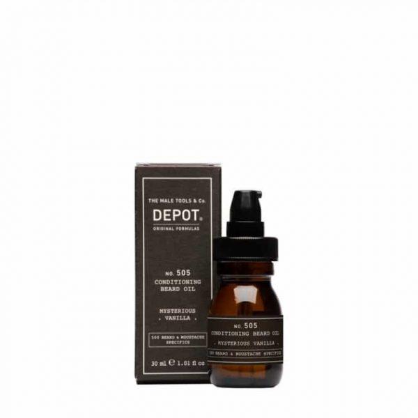 DEPOT 505 Conditioning Beard Oil Mysterious Vanilla 30ml