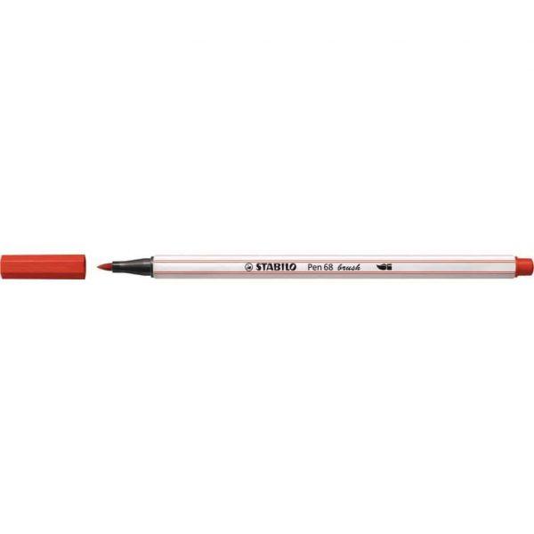 Pennarello Stabilo PEN68 Brush Rosso