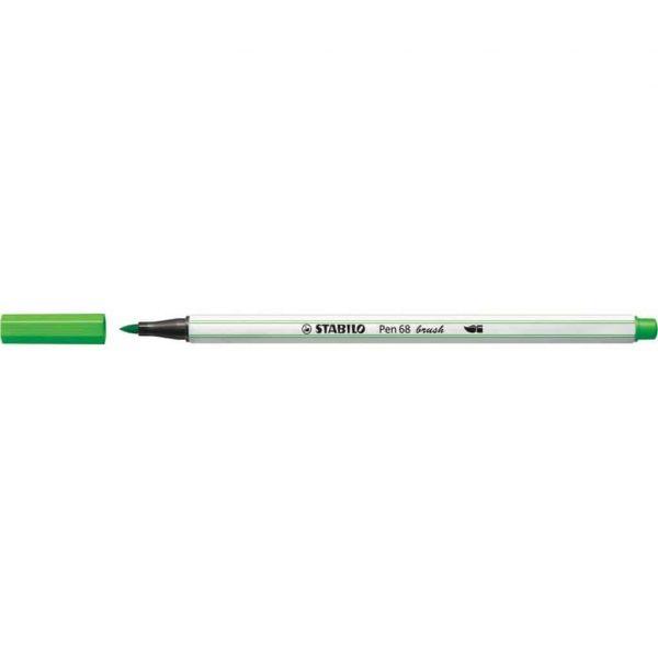 Pennarello Stabilo PEN68 Brush Verde Chiaro