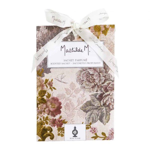 Sacchetti profuma biancheria MATHILDE M profumo Rose Elixir