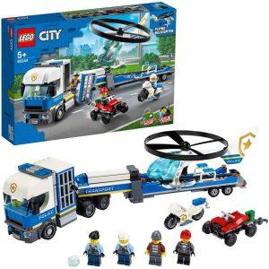 LEGO City Trasportatore di elicotteri della polizia