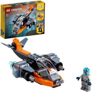 LEGO Creator Cyber-drone