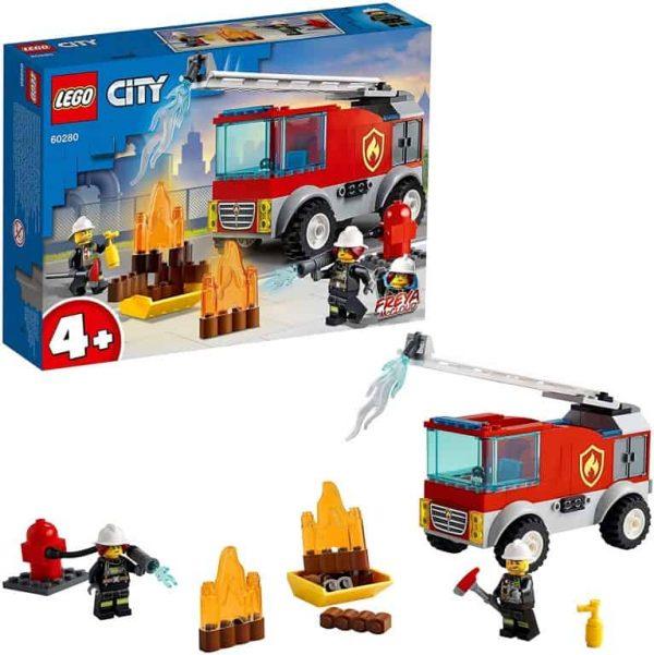 Lego City Fire Autopompa con scala