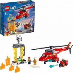 Lego City Fire Elicottero antincendio