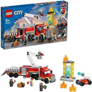 Lego City Fire Unità di comando antincendio