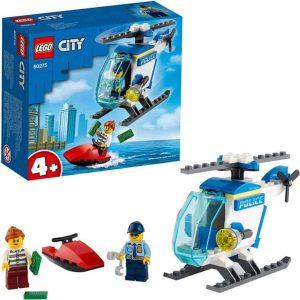 Lego City Police Elicottero della Polizia