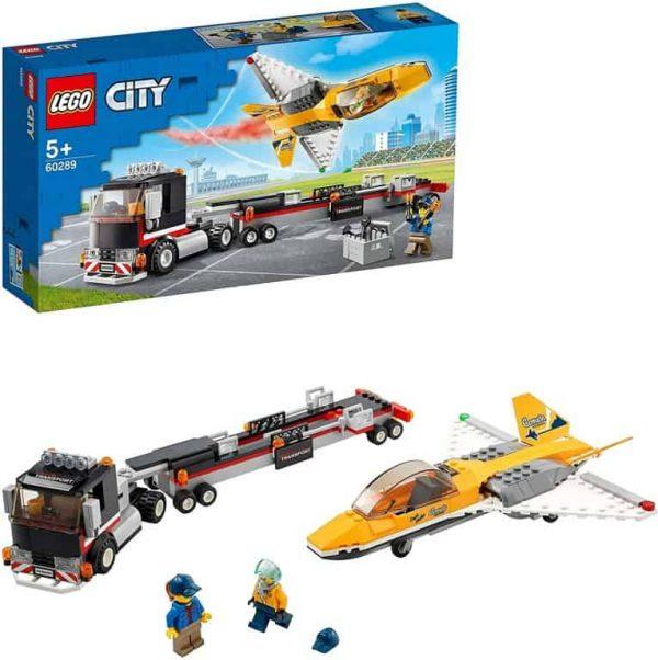 Lego City Trasportatore di jet acrobatico