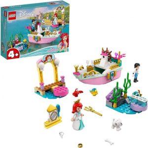 Lego Disney Princess La barca della festa di Ariel