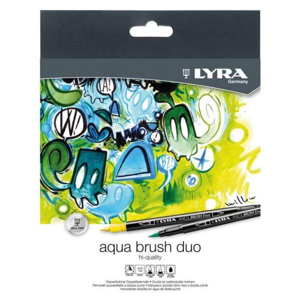 Aqua Brush Duo Lyra conf. 12 Colori