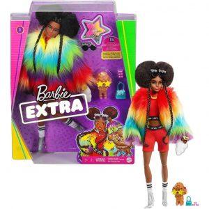 Barbie Extra Bambola con 10 Accessori alla Moda