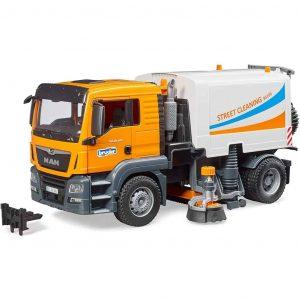 Bruder Camion Man TGS per Pulizia Stradale