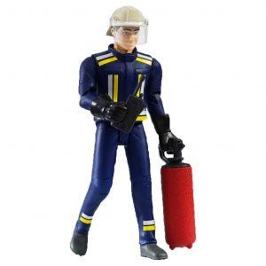 Bruder Pompiere con Accessori