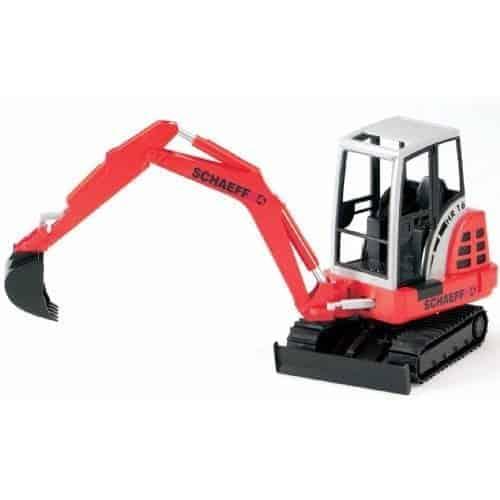 Bruder escavatore mini SCHAEFF HR 16 scala 1:16