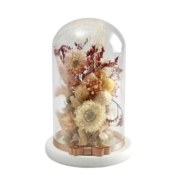 Campana di fiori secchi Cabinet des Merveilles Mathilde M Modello Medio