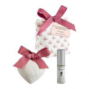 Confezione Gessi profumati con vaporizzatore 5ml Mathilde M Palazzo Bello Fragranza Marquise
