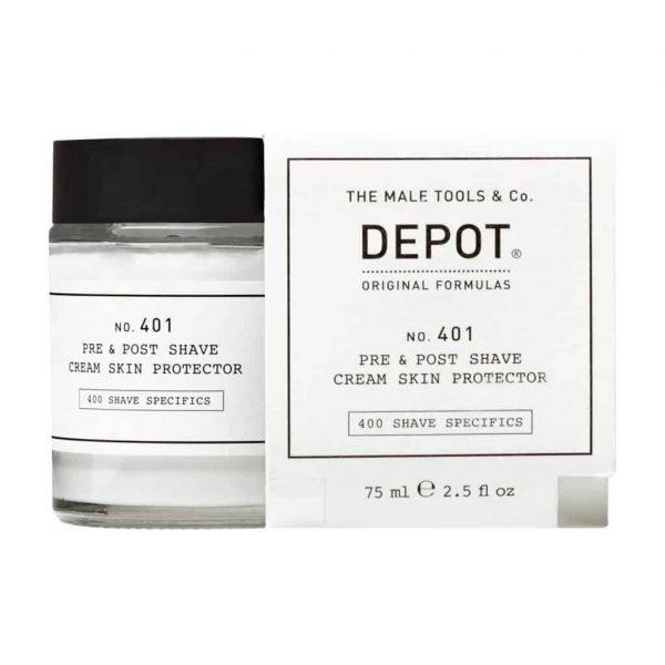 DEPOT 401 Pre&Post Shave Cream Skin Protector 75ml