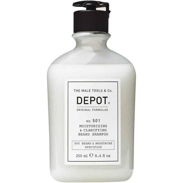 DEPOT 501 Moisturizing&Clarifying Beard Shampoo 250ml