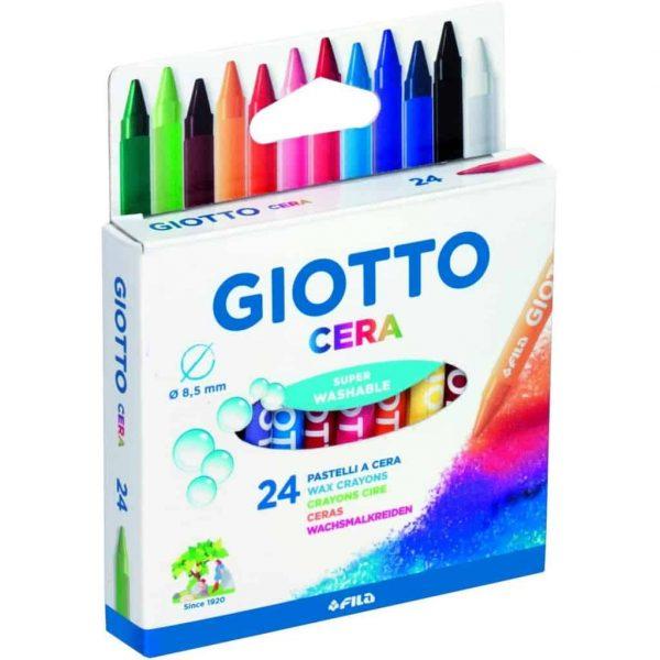 Giotto Pastelli a cera conf. 24 pezzi