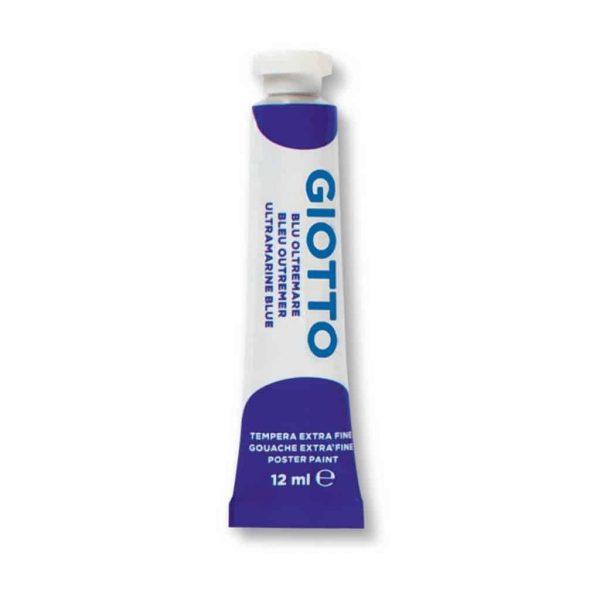 Giotto Tempera Extra 12ml Blu Oltremare