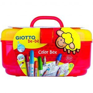 Giotto be-be' Color Box 27 pezzi assortiti