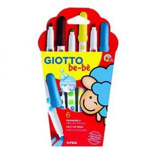 Giotto be-bè astuccio pennarelli 6 pz