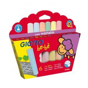 Giotto be-bè gessi colorati conf. 6 pz