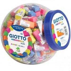 Giotto minigomma fluo