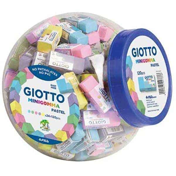 Giotto minigomma pastel
