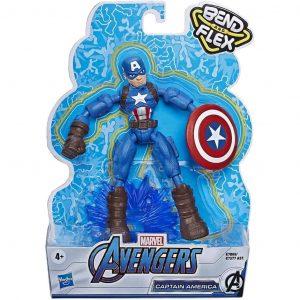 Hasbro Marvel Avengers Captain America personaggi snodabili 15cm