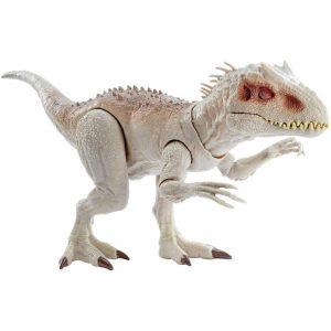 Jurassic World Indominus Rex Dinosauro con Luci e Suoni
