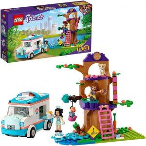 LEGO Friends L'ambulanza della clinica veterinaria
