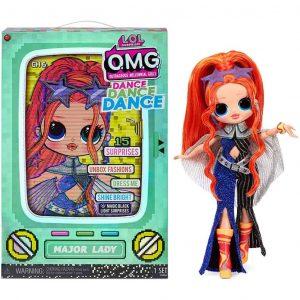 LOL Surprise Dance Dance Dance OMG Fashion Doll Major Lady