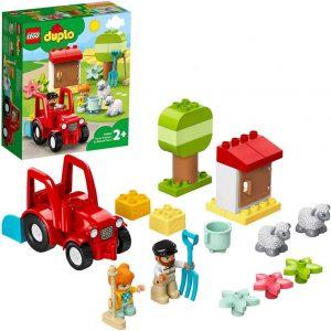 Lego DUPLO Town Il trattore della fattoria e i suoi animali