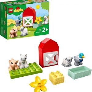 Lego DUPLO town Gli animali della fattoria