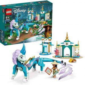 Lego Disney Princess Raya e il drago Sisu