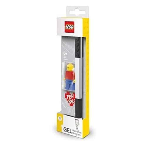 Lego Gel Pen Nera + Minifigure