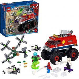 Lego Monster Truck di Spider-Man vs. Mysterio